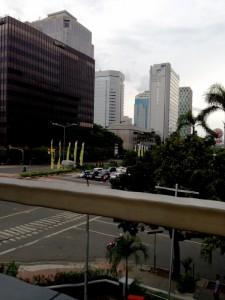 ジャカルタ街並み