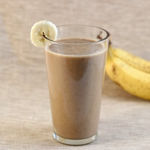 mocha-banana-coffee-smoothie