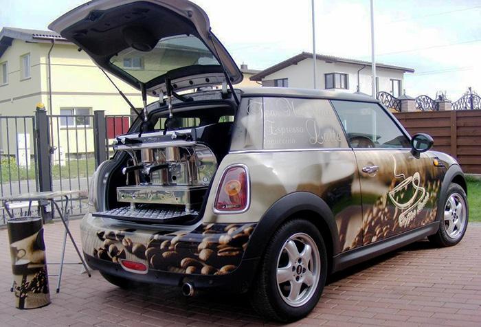 コーヒー 車