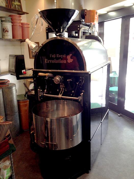 樽珈屋 焙煎機