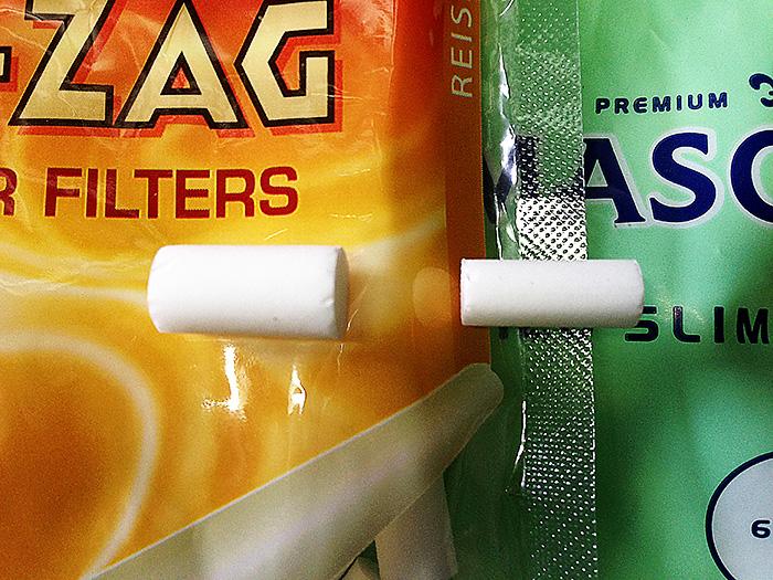 手巻きタバコ 巻き方