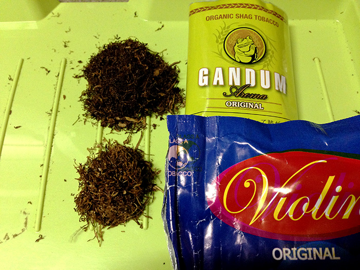 手巻きタバコ ガンドゥン