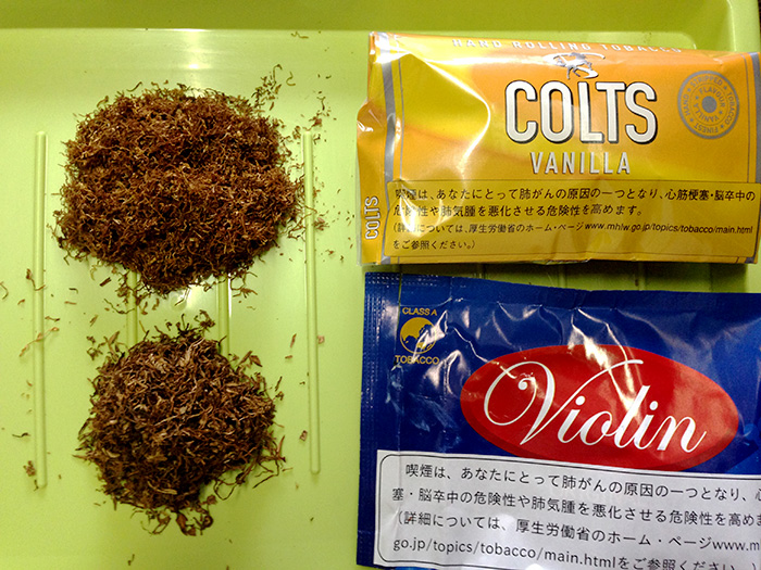 手巻きタバコ コルツ