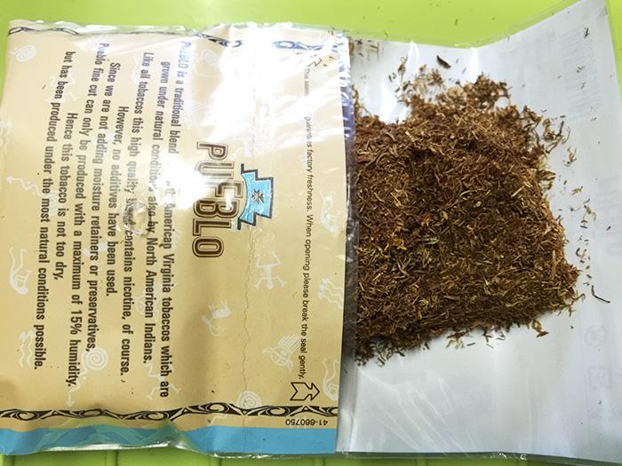 タバコ輸入業者がオススメする手巻きタバコレビュー『 プエブロ・ナチュラル(PUEBLO)』