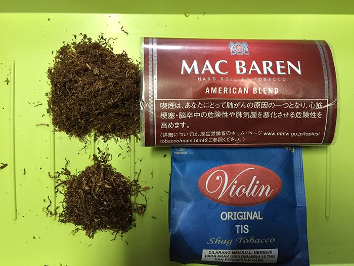 タバコ輸入業者がオススメする手巻きタバコ(シャグ)レビュー『 マックバレン・アメリカンブレンド(MAC BAREN)』