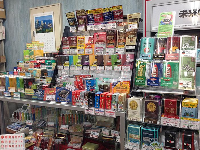[インドネシア産タバコ取扱店舗] 緑屋 [奈良市右京]