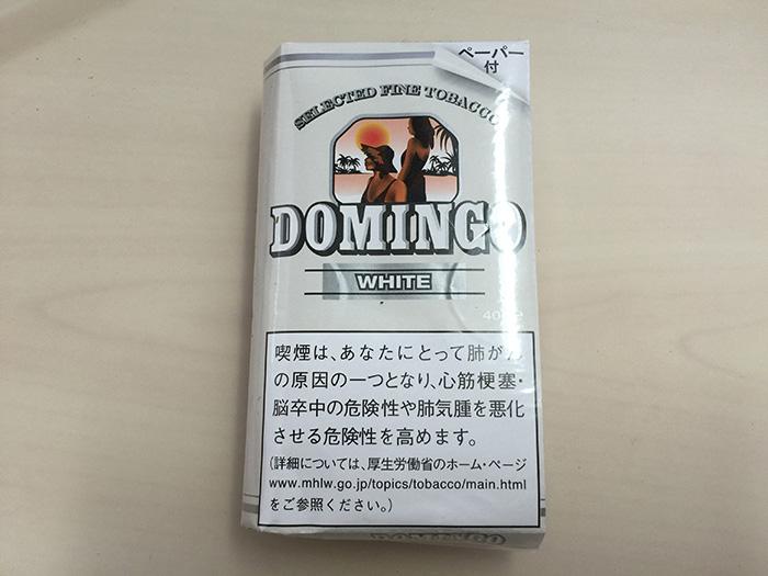 タバコ輸入業者がオススメする手巻きタバコ(シャグ)レビュー『ドミンゴ・ホワイト(DOMINGO WHITE)』