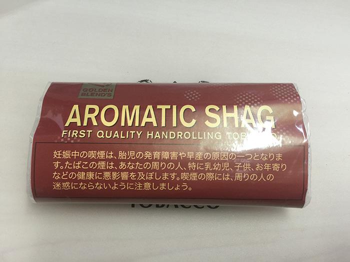 『 ゴールデンブレンド・アロマティック(AROMATIC SHAG)』タバコ輸入業者がオススメする手巻きタバコ(シャグ)レビュー