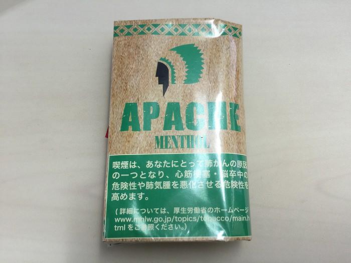 『アパッチ・メンソール(APACHE)』タバコ輸入業者がオススメする手巻きタバコ(シャグ)レビュー