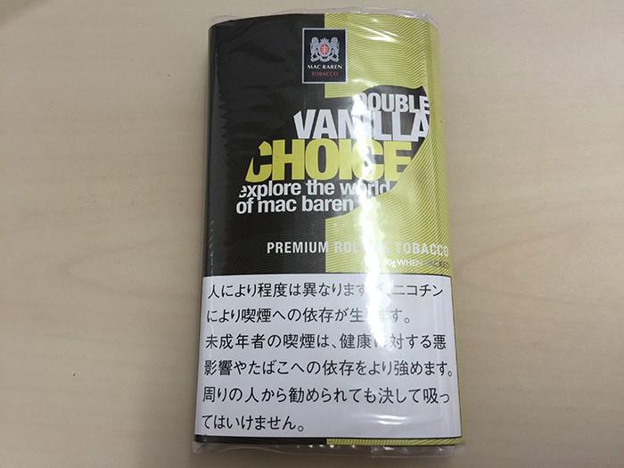 『 チョイス・ダブルバニラ(CHOICE)』タバコ輸入業者がオススメする手巻きタバコ(シャグ)レビュー