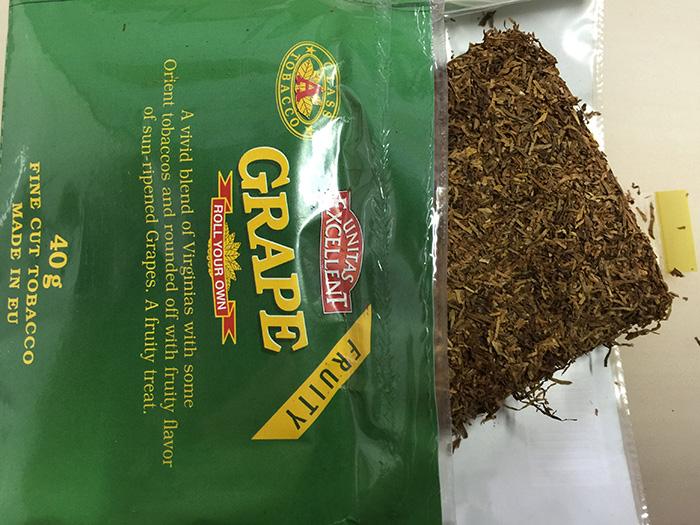 『エクセレント・グレープ(EXCELLENT)』タバコ輸入業者がオススメする手巻きタバコ(シャグ)レビュー