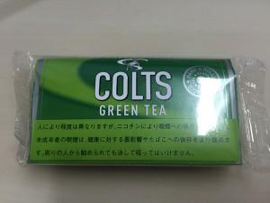 『コルツ・グリーンティー(COLTS GREEN TEA)』タバコ輸入業者がオススメする手巻きタバコ(シャグ)レビュー