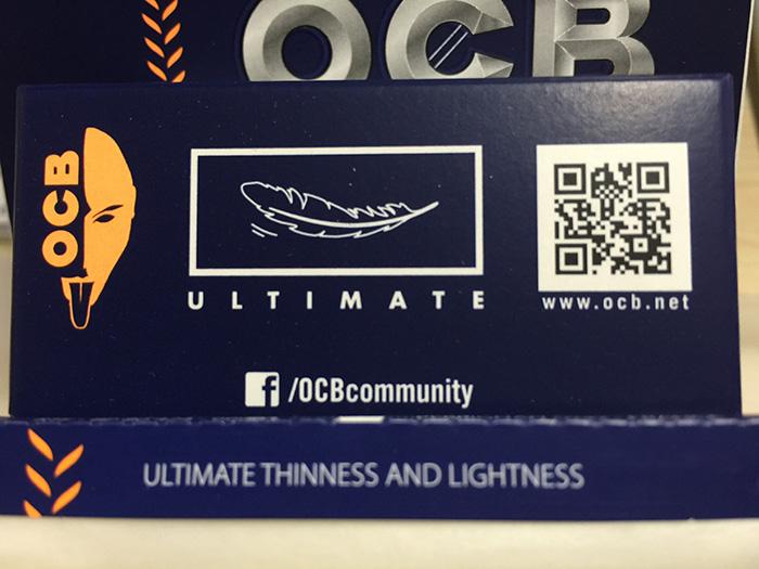 『OCB・アルティメイト(OCB ULTIMATE)』タバコ輸入業者がオススメする巻紙(ペーパー)レビュー
