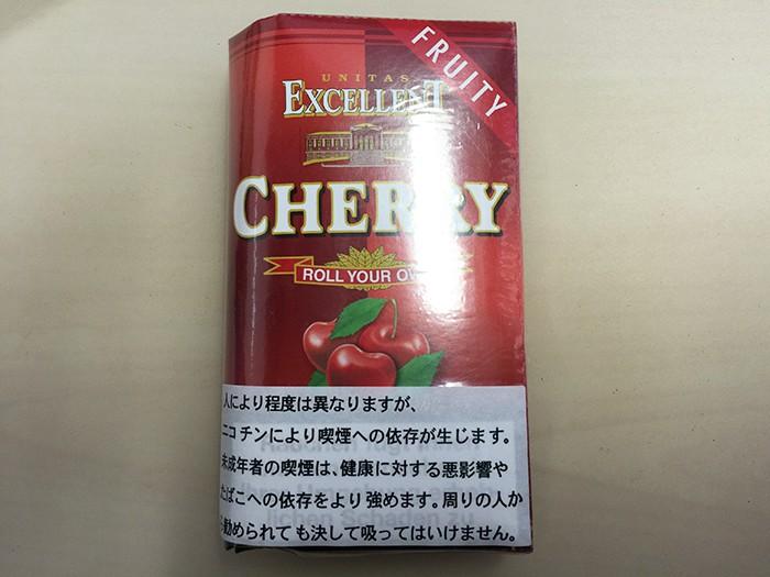 『エクセレント・チェリー(EXCELLENT)』タバコ輸入業者がオススメする手巻きタバコ(シャグ)レビュー
