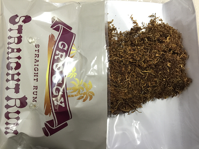 『グロッギー・ストレートラム(GROGGY)』タバコ輸入業者がオススメする手巻きタバコ(シャグ)レビュー