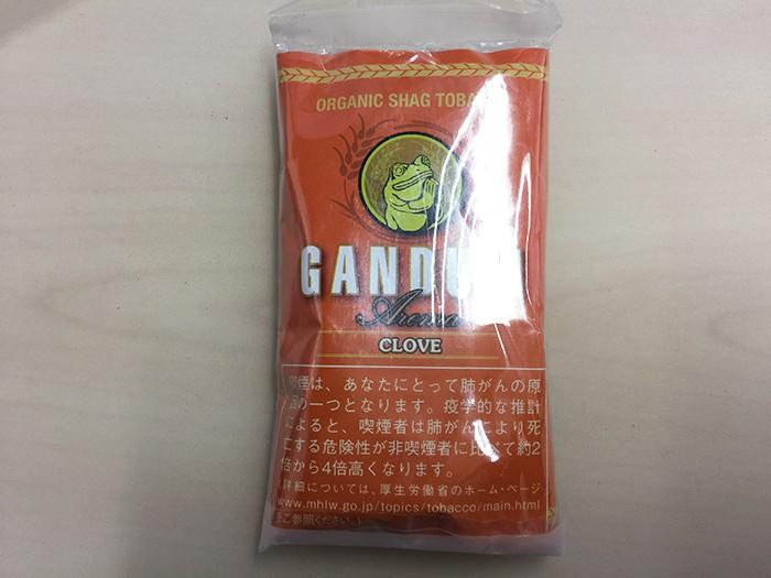 『ガンドゥン・アロマ・クローブ(GANDUM)』タバコ輸入業者がオススメする手巻きタバコ(シャグ)レビュー