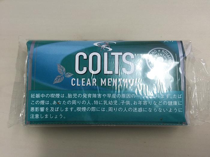 『コルツ・クリアメンソール(COLTS CLEAR MENTHOL)』タバコ輸入業者がオススメする手巻きタバコ(シャグ)レビュー