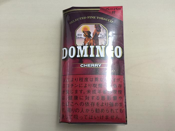 『ドミンゴ・チェリー(DOMINGO CHERRY)』タバコ輸入業者がオススメする手巻きタバコ(シャグ)レビュー