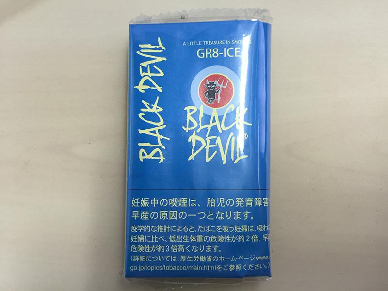『ブラックデビル・グレートアイス(BLACK DEVIL GR8-ICE)』タバコ輸入業者がオススメする手巻きタバコ(シャグ)レビュー