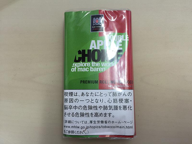『 チョイス・ダブルアップル(CHOICE)』タバコ輸入業者がオススメする手巻きタバコ(シャグ)レビュー