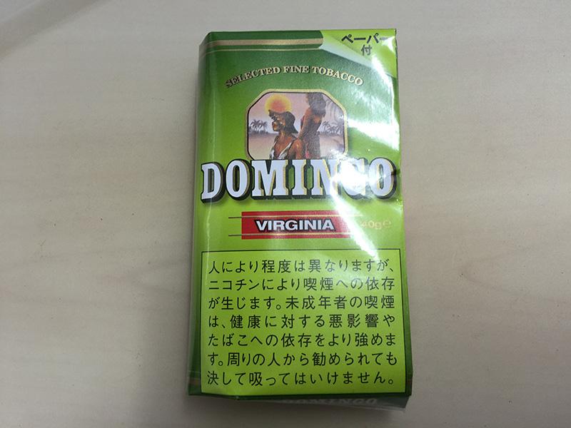 『ドミンゴ・バージニア(DOMINGO VIRGINIA)』タバコ輸入業者がオススメする手巻きタバコ(シャグ)レビュー