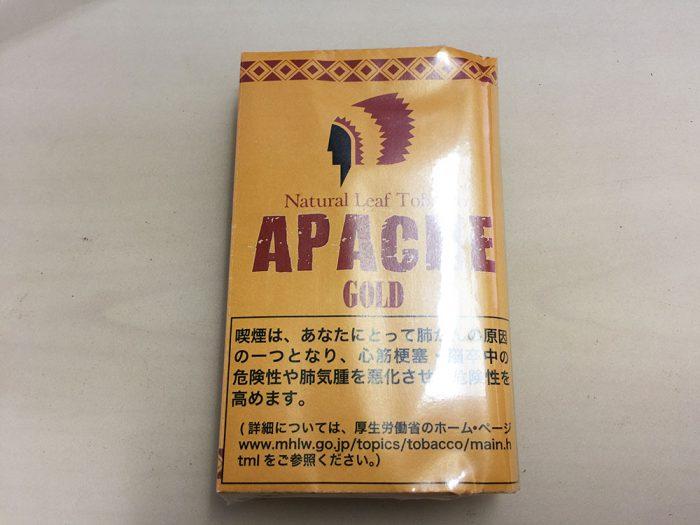 『アパッチ・ゴールド(APACHE)』タバコ輸入業者がオススメする手巻きタバコ(シャグ)レビュー