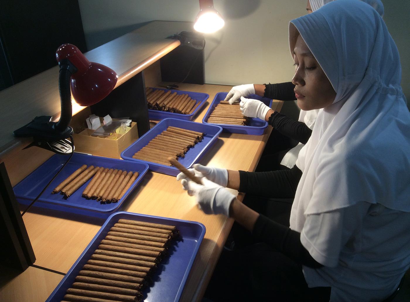 インドネシア産の高品質な葉巻(プレミアムシガー)